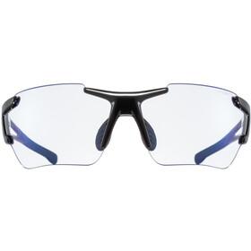 UVEX Sportstyle 803 Race Vario Glasses Small, black/blue